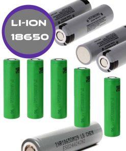Baterías Litio Ion 18650