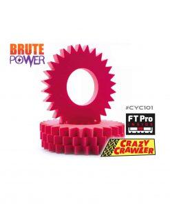 Espumas Crazycrawler FT PRO Spur-Master CYC101
