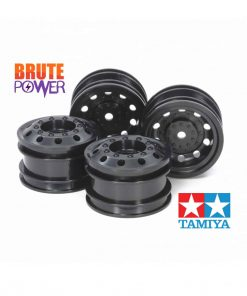 llantas negras para Tamiya Euro Trucks