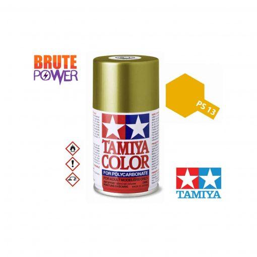 Pintura Spray Tamiya PS-13 dorado