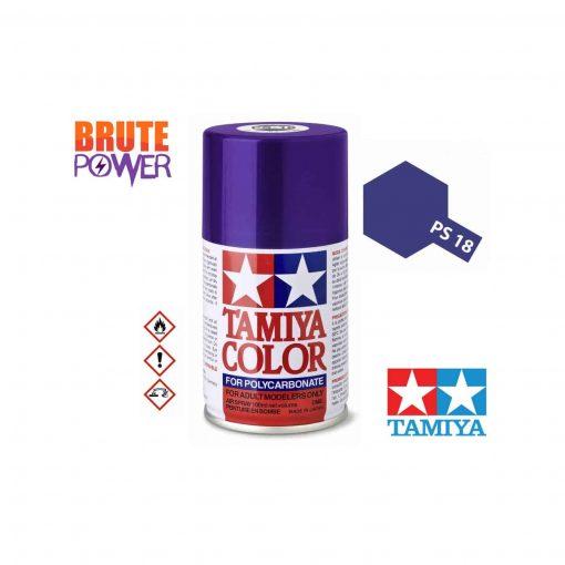 Pintura Spray Tamiya PS-18 púrpura metalizado