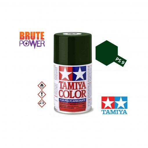 Pintura Spray Tamiya PS-9 verde