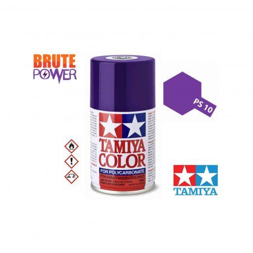 Pintura Spray Tamiya PS-10 púrpura