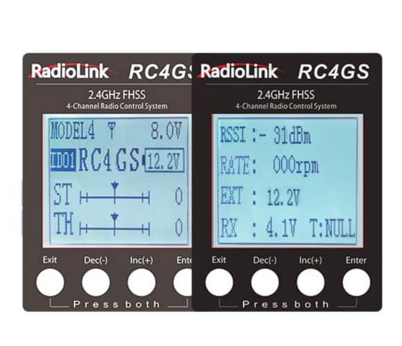 Telemetria radiolink