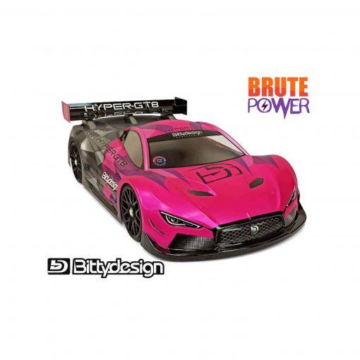 Carrocería 1/8 Bittydesign GT Hyper GT8