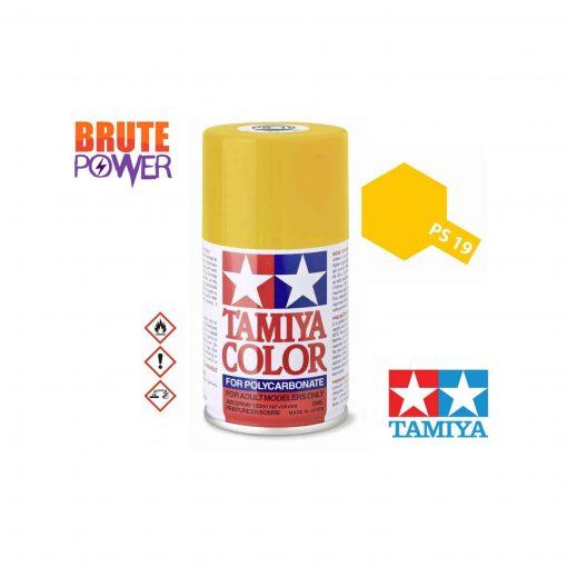 Pintura Spray Tamiya PS-19 amarillo camel
