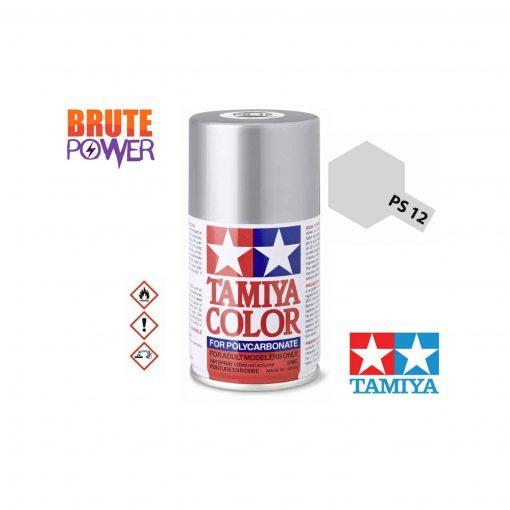 Pintura Spray Tamiya PS-12 plata