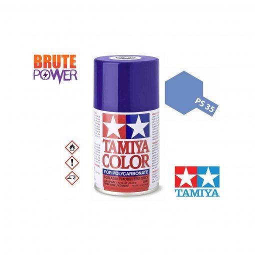 Pintura Spray Tamiya PS-35 violeta