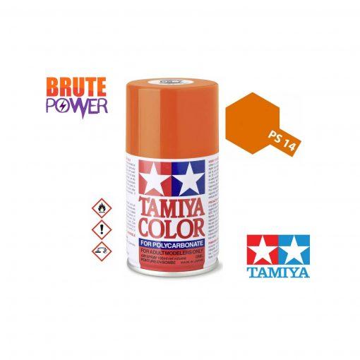 Pintura Spray Tamiya PS-14 cobre