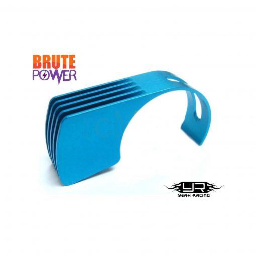 Disipador calor aluminio azul Yeah Racing motores