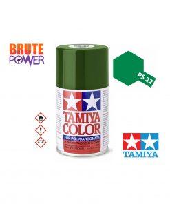 Pintura Spray Tamiya PS-22 racing green polycar