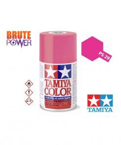Pintura Spray Tamiya PS-29 rosa fluor