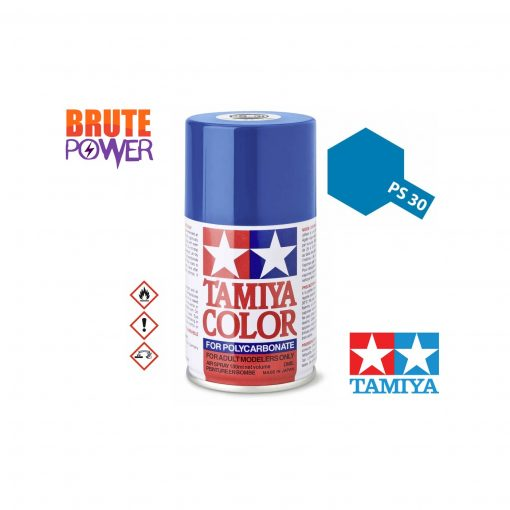 Pintura Spray Tamiya PS-30 azul brillante