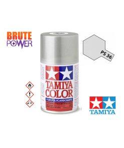 Pintura Spray Tamiya PS-36 plata traslucido
