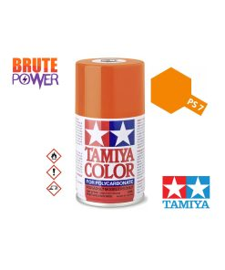 Pintura Spray Tamiya PS-7 naranja