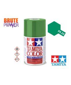 Pintura Spray Tamiya PS-25 verde claro