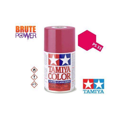Pintura Spray Tamiya PS-33 rojo cereza
