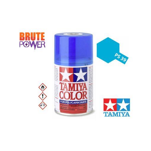 Pintura Spray Tamiya PS-39 azul claro traslucido