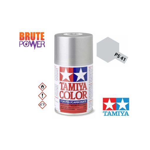 Pintura Spray Tamiya PS-41 plata brillante
